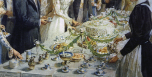 History of Cake Artistry - displays of wealth